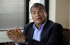 Tòa án Ecuador giữ nguyên bản án với cựu Tổng thống Rafael Correa