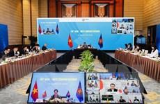 Quan hệ đối tác ASEAN-Nhật Bản tiến triển bất chấp COVID-19
