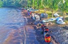 Mitsui OSK hỗ trợ khắc phục hậu quả vụ tràn dầu ở Mauritius