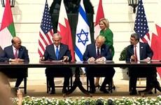 Israel ký thỏa thuận bình thường hóa với UAE và Bahrain