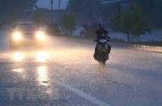 Bắc Bộ có mưa vừa, mưa to; nguy cơ lốc, sét và gió giật mạnh