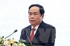 Chủ tịch Ủy ban Trung ương MTTQ thăm hỏi các tỉnh bị thiệt hại do bão