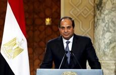 Tổng thống Ai Cập bày tỏ lập trường về một loạt vấn đề khu vực