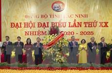 [Photo] Khai mạc Đại hội đại biểu Đảng bộ tỉnh Bắc Ninh lần thứ XX