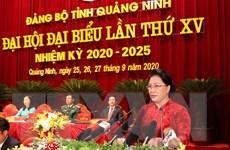 Chủ tịch Quốc hội dự Đại hội đại biểu Đảng bộ tỉnh Quảng Ninh