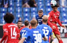 Đương kim vô địch Bayern Munich thảm bại 1-4 trước Hoffenheim