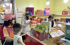 Thị trường bánh Trung thu tại Thành phố Hồ Chí Minh vẫn khá trầm lắng