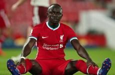 Tiền đạo Sadio Mane của Liverpool dương tính với virus SARS-CoV-2