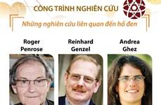 [Infographics] Về ba nhà khoa học vừa giành giải Nobel Vật lý 2020