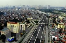 Thông xe cầu cạn Mai Dịch-Nam Thăng Long vào ngày 10/10