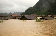 Lũ tiếp tục lên, nguy cơ sạt lở đất vùng núi từ Hà Tĩnh đến Quảng Nam