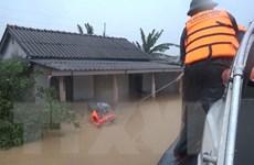 4 người chết và 39.700 hộ bị ngập lụt do lũ lớn tại tỉnh Quảng Trị