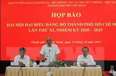 444 đại biểu dự Đại hội Đảng bộ Thành phố Hồ Chí Minh lần thứ XI
