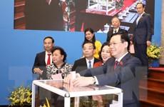 [Photo] Bầu Ban Chấp hành Đảng bộ thành phố Hà Nội khóa XVII