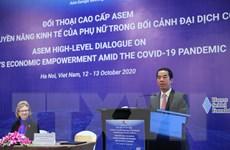 Đối thoại cấp cao ASEM về thúc đẩy quyền năng kinh tế của phụ nữ