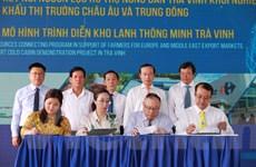 Trà Vinh khởi công dự án kho lạnh thông minh, tìm đầu ra cho nông sản