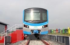 TP.HCM tổ chức lễ đón đoàn tàu tuyến metro số 1 Bến Thành-Suối Tiên