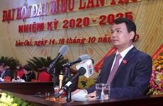Ông Đặng Xuân Phong được bầu giữ chức Bí thư Tỉnh ủy Lào Cai