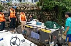 An Giang: Cứu hai người trên thuyền đánh cá sắp chìm lúc nửa đêm