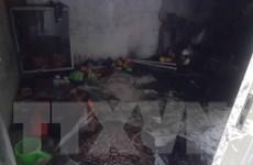 Bình Định: Nghịch bật lửa, hai cháu bé bị thiêu tử vong thương tâm