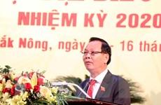 Ông Ngô Thanh Danh được bầu giữ chức Bí thư Tỉnh ủy Đắk Nông