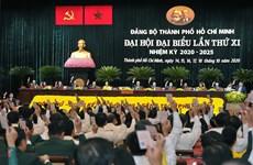 Bế mạc Đại hội đại biểu Đảng bộ Thành phố Hồ Chí Minh khóa XI
