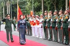 Chủ tịch Quốc hội dự lễ kỷ niệm thành lập Báo Quân đội nhân dân