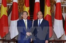 [Photo] Thủ tướng Nguyễn Xuân Phúc hội đàm với Thủ tướng Nhật Bản Suga