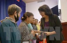Kon Tum: Phó Chủ tịch nước Đặng Thị Ngọc Thịnh làm việc tại Đăk Tô
