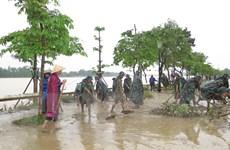 Thừa Thiên-Huế vừa khắc phục hậu quả mưa lũ, vừa ứng phó với bão số 8