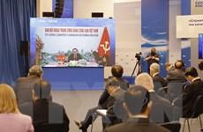 Đoàn Đảng cộng sản Việt Nam dự Diễn đàn trực tuyến liên đảng quốc tế