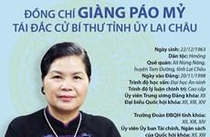 [Infographics] Bí thư Tỉnh ủy Lai Châu khóa XIV Giàng Páo Mỷ