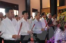 Tưởng niệm 152 năm ngày hy sinh của Anh hùng Nguyễn Trung Trực