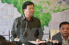 Bão số 9: Phó Thủ tướng nhấn mạnh 'thời gian vàng' để sơ tán người dân