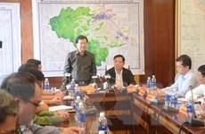 Phó Thủ tướng chủ trì họp Ban Chỉ đạo tiền phương tại Đà Nẵng