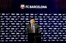 Chủ tịch Josep Bartomeu từ chức sau hơn 6 năm tại vị ở Barcelona