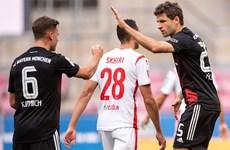 RB Leipzig bại trận, Bayern Munich trở lại ngôi đầu Bundesliga