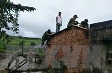 Quân dân tỉnh Gia Lai đồng lòng khắc phục hậu quả bão lũ