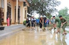 Khắc phục hậu quả bão số 9: Nghệ An sớm đưa việc dạy và học trở lại