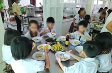 Giám sát bữa ăn bán trú và các hoạt động của trường Trần Thị Bưởi
