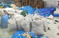 Bắc Ninh: Thu giữ 9,5 tấn găng tay cao su không đảm bảo chất lượng