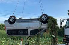 6 công dân Việt Nam tử vong trong vụ tai nạn giao thông ở Campuchia