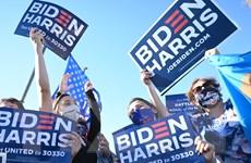 Người dân New York đổ ra đường ăn mừng chiến thắng của ông Joe Biden