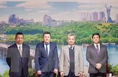 Đại sứ các nước ASEAN thúc đẩy tăng cường quan hệ với Ukraine