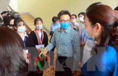 Phó Thủ tướng kiểm tra công tác phòng, chống dịch tại tỉnh Quảng Ninh