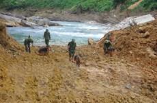 Vụ Thủy điện Rào Trăng 3: Quyết tâm tìm kiếm các nạn nhân mất tích