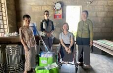 Hỗ trợ người khuyết tật tỉnh Thừa Thiên-Huế sớm ổn định sau bão lũ