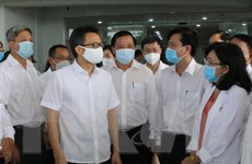 Phó Thủ tướng kiểm tra công tác phòng, chống dịch tại tỉnh Long An