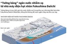 'Tường băng' ngăn nước nhiễm xạ từ nhà máy Fukushima Daiichi
