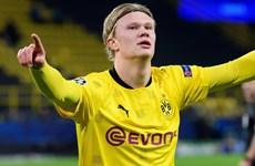 Tiền đạo Erling Braut Haaland đi vào lịch sử Champions League